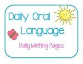 Daily Oral Language - Sentence Practice