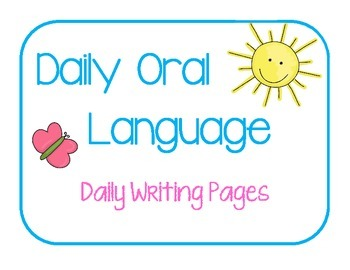 Daily Oral Language - Sentence Practice