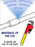 Daily Oral Language - Tons of DOL Sentences, Grammar Rules, and Tests