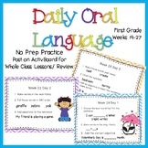 Daily Oral Language Weeks 19-27