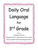Daily Oral Language for 3rd Grade