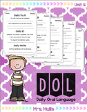 Daily Oral Language for Reading Street Unit 4
