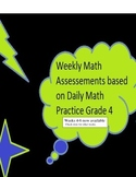 Daily Oral Math Weekly Assessments Grade 4