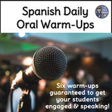 Daily Oral Warm-ups for Novice Spanish Students