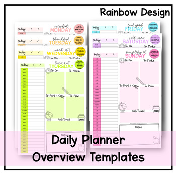 Daily Overview Template