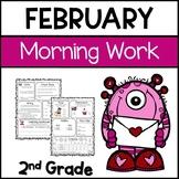 February Morning Work for Second Grade