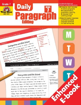 Daily Paragraph Editing, Grade 7