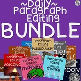 Daily Paragraph Editing Practice - BUNDLE of Science Concepts