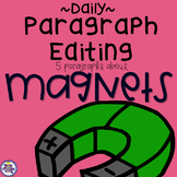 Daily Paragraph Editing Practice - Magnets and Magnetism