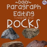 Daily Paragraph Editing Practice - Types of Rocks