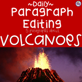 Daily Paragraph Editing Practice - Volcanoes!