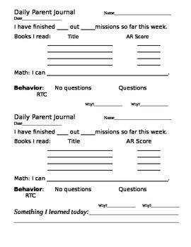 Daily Parent Communication