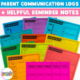 Daily Parent Communication Logs
