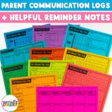 Daily Parent Communication Logs
