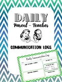 Daily Parent - Teacher Communication Logs
