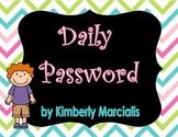 Daily Password