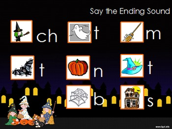 Daily Phonemic Awareness and Phonics Skills- Weeks 10 & 11 Halloween Theme