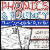 Phonics Based Fluency & Phonics Worksheets~ The Bundle Dis
