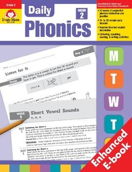 Daily Phonics, Grade 2, Teacher's Edition, E-book