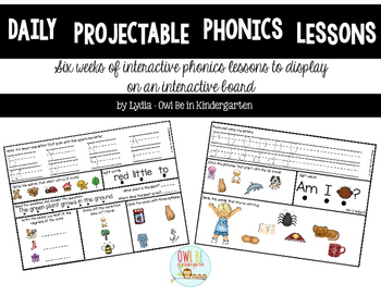 Daily Phonics Lessons: 6 Weeks of Interactive Daily Review