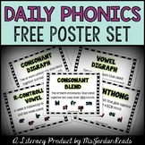 """""""Daily Phonics"""" Posters (FREE)"""