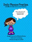 Daily Phonics Practice