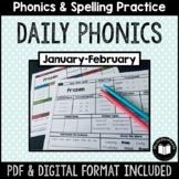 """Daily Phonics"" Word Work (January - February)"