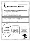 Daily Physical Activity (DPA) Student Project (Health/Phys. Ed)