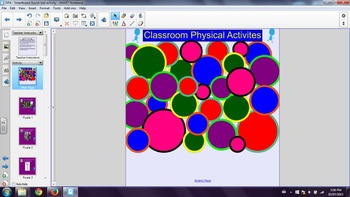 Daily Physical Activity - 30 Classroom Activities (PPT and