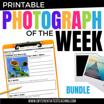 Language Arts Morning Work for Grades 2-3: Picture Prompts