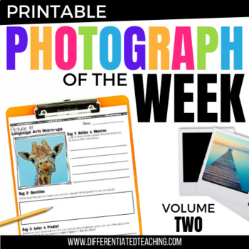 Language Arts Morning Work: Comprehension through Pictures Vol. 2 {20 weeks}