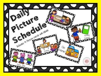Daily Picture Schedule