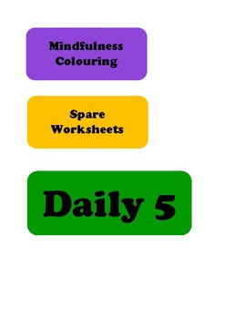 Daily Planner Labels