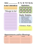 Daily Planner / Teacher Organizer
