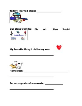 Daily Planner Template 2