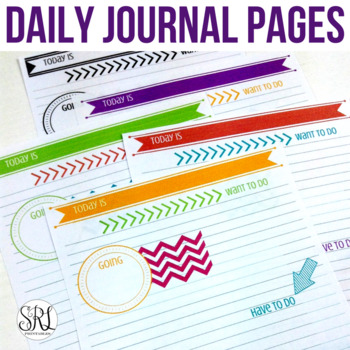 Daily Planner for Kids: Fun, bright daily planner with notes for tweens / teens