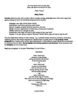 Daily Poem Bundle