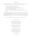 Daily Poem/Poet: Paul Laurence Dunbar