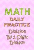 100 Q Daily Practice Division (morning activity,warm up, t