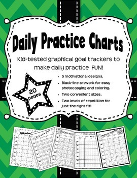 Daily Practice Records - Graphical Goal Trackers for Music Students
