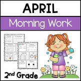 Common Core Math and Language Arts Daily Practice for Second Grade (April)