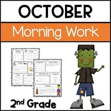 Common Core Math and Language Arts Daily Practice for Second Grade (October)