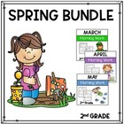 Math and Language Arts Daily Practice for Second Grade (Sp