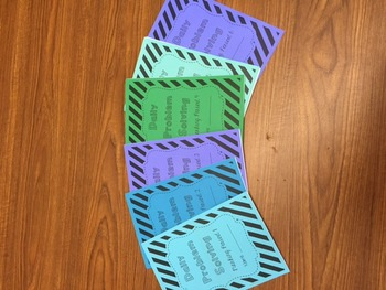 Daily Problem Solving Booklets - Word Problems