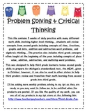Daily Problem Solving Weeks 1-5