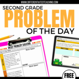 Daily Problem Solving for 2nd Grade: FREE SAMPLE