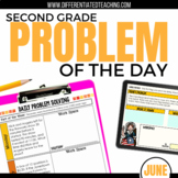 Daily Problem Solving for 2nd Grade: June Word Problems