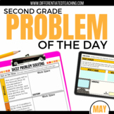 Daily Problem Solving for 2nd Grade: May Word Problems