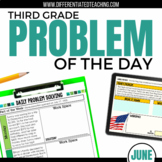 Daily Problem Solving for 3rd Grade: June Word Problems