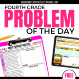Daily Problem Solving for 4th Grade: FREE SAMPLE